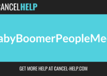 How to Cancel BabyBoomerPeopleMeet Cancel Guide